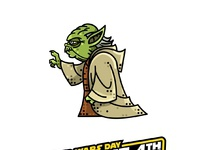 May the 4th be with you  ad