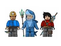 Mobcrush Legocharacters
