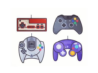 Retro Joystick 🕹️ arcade illustration joystick stickers design retro gaming game video 80s 90s atari nintendo