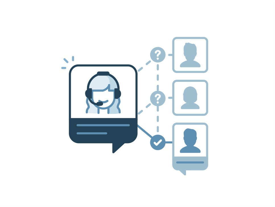 Manual chat routing add