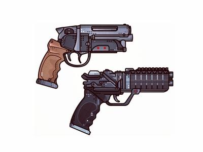 Blade Runner Guns