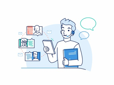 A Better Team Messaging App customer technology design data customer support help chat user support app messaging team