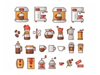 Coffee Icons ☕