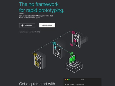 Rapid Prototyping No.3 web tool technology page line isometric icon design data connect adobe 2d