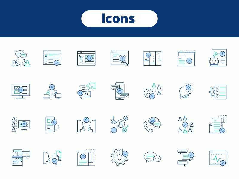 Icons 2d adobe gradient graphic icon icons layers line pen stroke tool