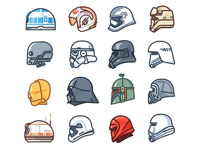Star Wars Droids k-2so darth vader bb8 droid icons kylo c3po r2d2 star wars stormtrooper helmet character