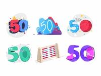 50 Doodles