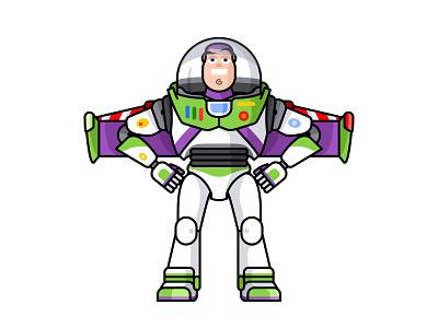 Buzz Lightyear cartoon character figure toy buzz toy story pixar kawaii jerrod maruyama disney cute buzz lightyear