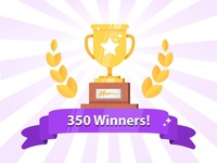 350 Winners