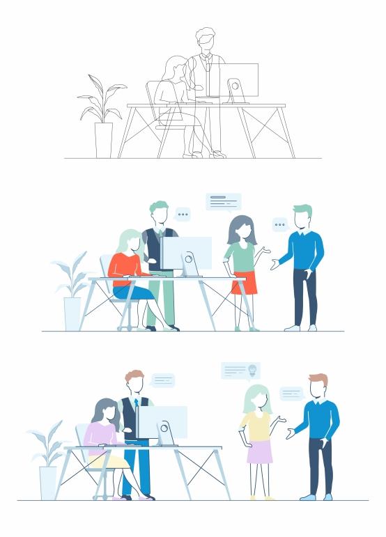 Collaboration graphic add