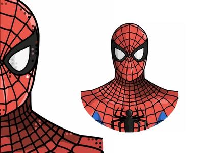 Spiderman comicbook comics marveluniverse marvel peterparker stanlee steveditko hero character design line illustration