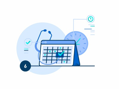 Schedule An Appointment cloud appointment service help calendar healt animation conferences analytics documents manager illustration