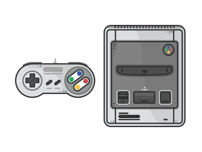 Super Nintendo videogame time retro outline super nintendo nintendo switch nintendo nes mini nes love icon set icons gameboy game fun consoles