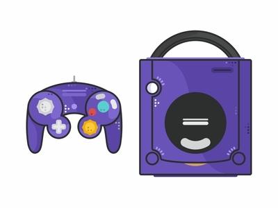 Nintendo Gamecube purple r game controlle console cd oldy arcade retro snes nintendo nes icon set icons icon gamepad gamecube gameboy nintendo gamecube