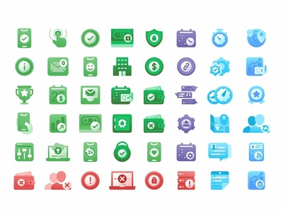 Branchmessenger Icon set