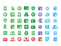 Branchmessenger Icon set
