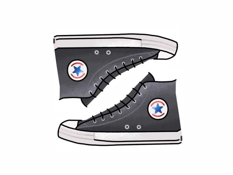 6fdb3b421b6ce1 Converse All Star sneakers chuck taylor vector trainer sport sneaker shoes  texture grit lines kicks converse