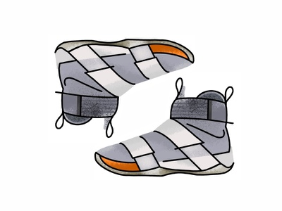 Nike X Lebron 10 Soldier sneakers vector trainer style sport sneaker shoes nike air jordan nike minimal lines kicks lebron 10 soldier illustration icon gradient footwear fashion design john elliott
