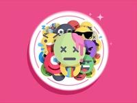 Emoji Coaster