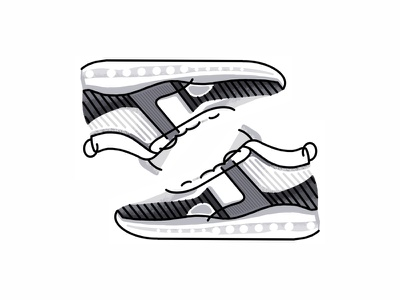 Nike Lebron 10 Je Icon Qs sneakers trainer style sport sneaker shoes jordan nike air nike lines lebron 10 kicks nike lebron illustration icon graphic gradient footwear fashion design