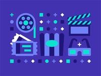 Movie Icons 🎟🎬🎞