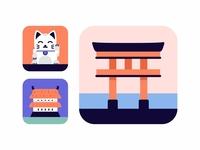 Japan Icons Set.3