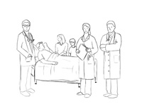 Doctors Sketch WIP