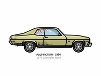 Pulp Fiction, 1994 Chevrolet Nova