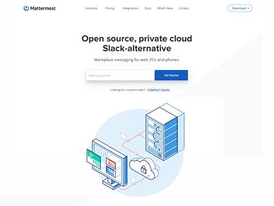 Private Cloud design proxy proxies servers web tech illustration database technology slack alternative slack security private cloud open source message interface computer code cloud chat