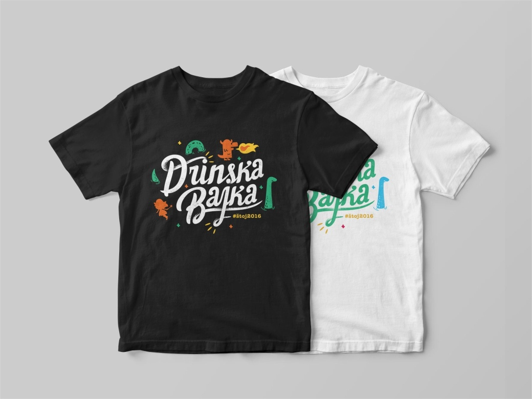 Drinska Bajka 👕👕 T-shirt text texture style font typography t-shirt procreate pencil nessie mythical monster loch ness ipad illustration icon draw doodle cute character brush