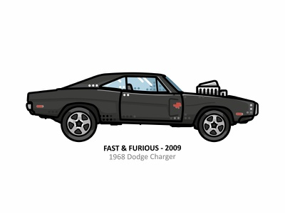 1968 Dodge Charger american muscle car american muscle car mustang muscle car speed outline movie illustration iconic fast and furious film dots design charger car automobile auto american 1968 dodge charger