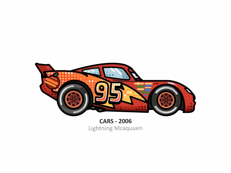 Lightning Mcqueen By Aleksandar Savic On Dribbble