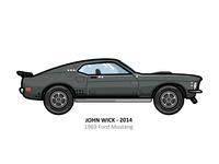 John Wick car