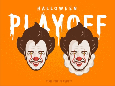 Pennywise horror scary outline it illustration character design sticker mule rebound playoff halloween giveaway stickers custom costume contest stephen king pennywise movie