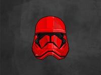 Sith Trooper kylo ren boba fett deathtrooper imperial sith space stormtrooper helmet darth vader outline lightsaber star wars jedi illustration graphic design character