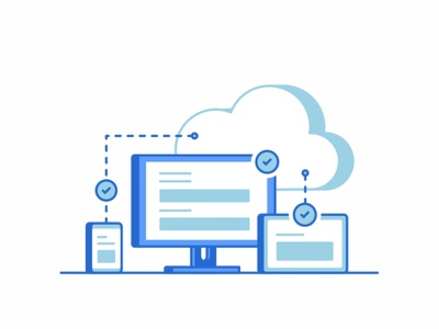 Connection web vps virtual support servers security programming networking message line icon set icons hosting emails education design connection cloud chat