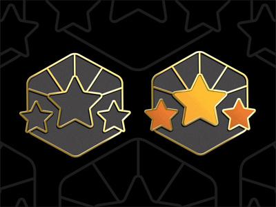 Gold Icons fitness logo ios badges application app medal 3d 2d minimal achievement black dark outline gold icon set star achievement icon apple