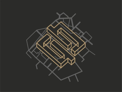 Neopix Shape city maps mapping street road dark web ui ux object texture line mocup outline illustration icon map design cute wireframe animation