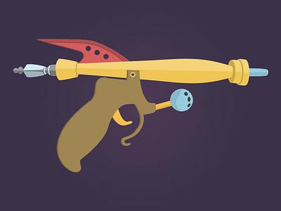 Kill it and bill it gun weapon illustration guru