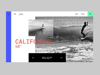 Vintage Surf Photos photo california layout gallery design surf