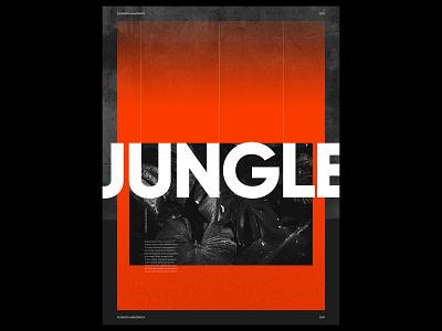 JUNGLE jungle collage freestyle design photoshop creation