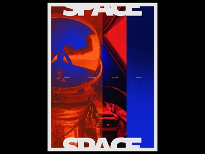 SPACE space visual collage design freestyle photoshop creation