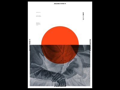 Balearic Fever 19 creation branding visual music layout minimal collage illustration ui photoshop design