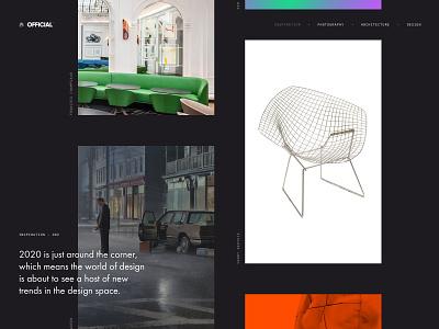Official | Inspiration cool images sketch ux inspiration ui desktop gallery design layout