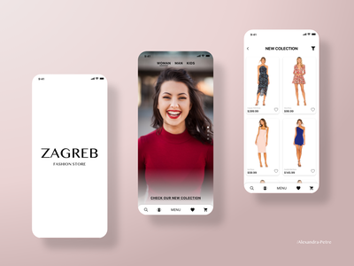 Modern Fashion Store App fashion brand ecommerce shop clothing design clothing brand clothes modern store fashion design fashion app fashion ecommerce design ecommerce ecommerce app ui ux design appdesign adobexd