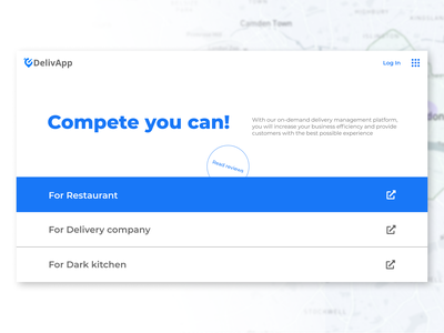 Main screen design for delivery service delivery typography figma vector website minimal webdesign design ux ui first screen main page