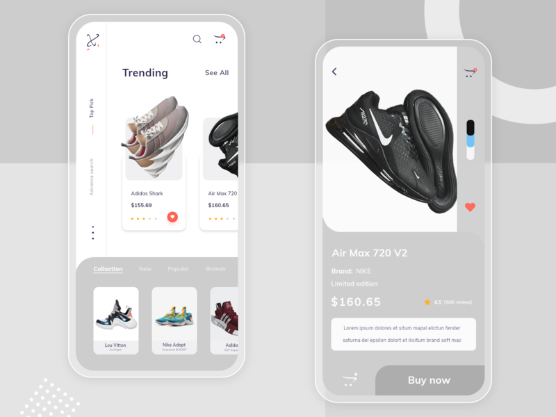 Ecommerce screen figma adobexd product design daily ui uidesigner uidesignpatterns shoes app userinterface app design ux ui ui  ux uiux ui design e-commerce design e-commerce app e-commerce ecommerce design ecommerce app ecommerce
