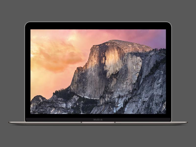 """12"""" Retina MacBook mock resource sketch inch 12 retina macbook apple"""