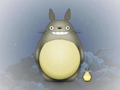 Totoro icon 256 48 wip work in progress ghibli