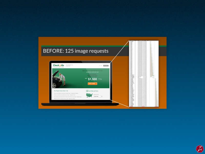 Checkngo.com Homepage - Side by Side Image Requests Comparison http requests finance